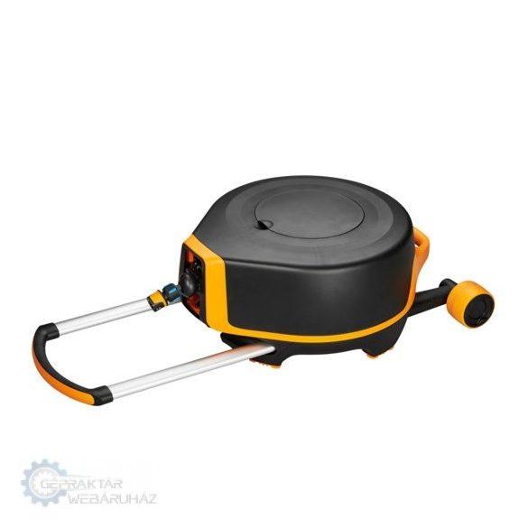 Fiskars XL automata tömlőkocsi szett kerekekkel