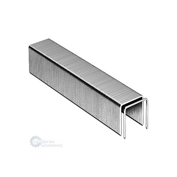 Novus Tűzőkapcsok H 37 4 (szuperkemény) 2000DB