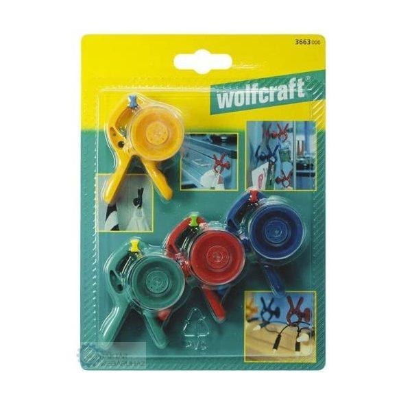Wolfcraft 3663000 Microfix S kisakasztó tapadókoronggal 4db