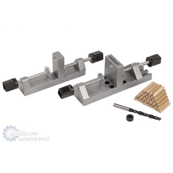 Wolfcraft 3750000 Univerzális facsapozó készlet, 12-30 mm, Ø 6,8,10 mm