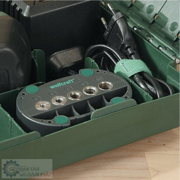 Wolfcraft 4685000 accumobil - mobil fúrássegítő 117 x 33 x 66 mm