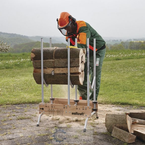 Wolfcraft Fűrészbak tűzifa darabolásához