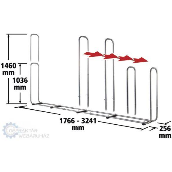 Wolfcraft 5125000 Moduláris tárolórendszer tűzifa hasábokhoz, XXL