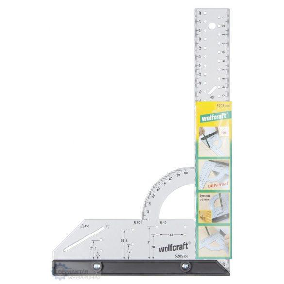 Wolfcraft 5205000 Univerzális szögvonalzó L=300 mm