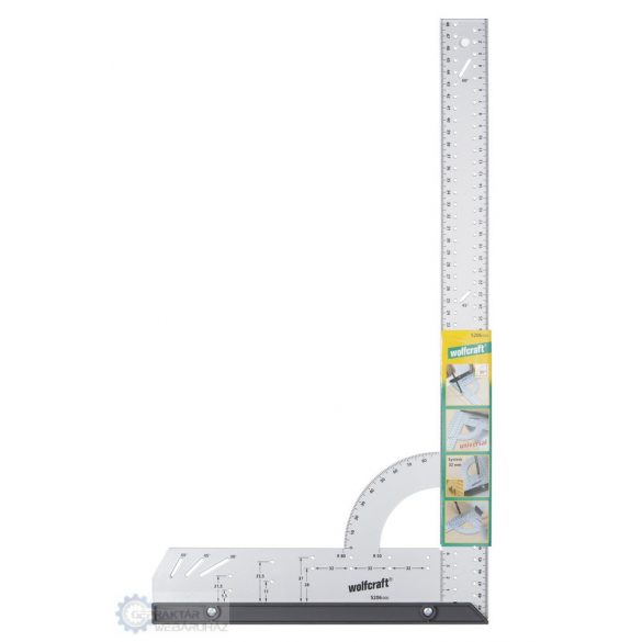 Wolfcraft 5206000 Univerzális szögvonalzó L=500 mm