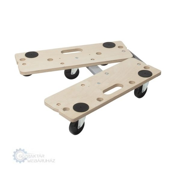 Wolfcraft 5548000 FT 300 B görgős bútorszállító, moduláris, fogantyúval