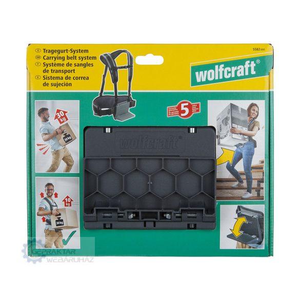 Wolfcraft 5582000 Szállítógurtni + hosszabbító
