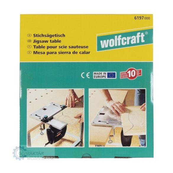 Wolfcraft 6197000 Dekopírfűrész asztal (CE) 320x300mm