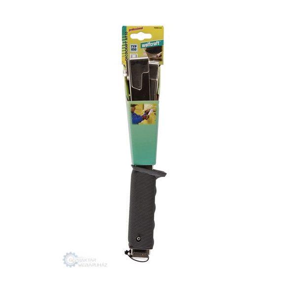 Wolfcraft tacocraft HT10 kalapácsos tűzőgép (kapocs Typ050 6,8,10mm)