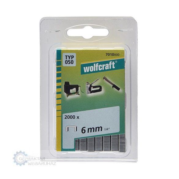 Wolfcraft 7011000 1500db széles tűzőkapocs Typ 050 8mm