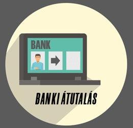 Fizetés banki átutalással